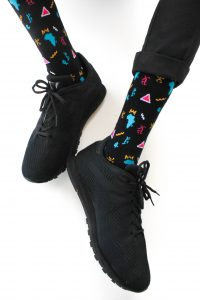Melanin sock
